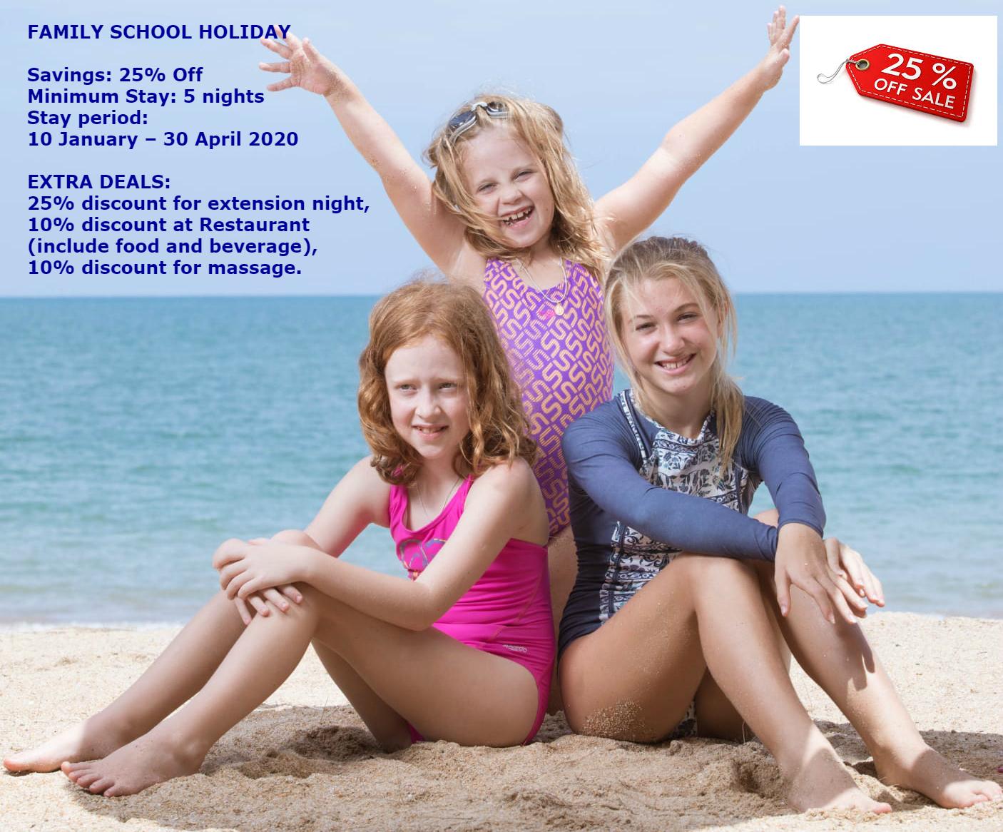 Family School Holiday