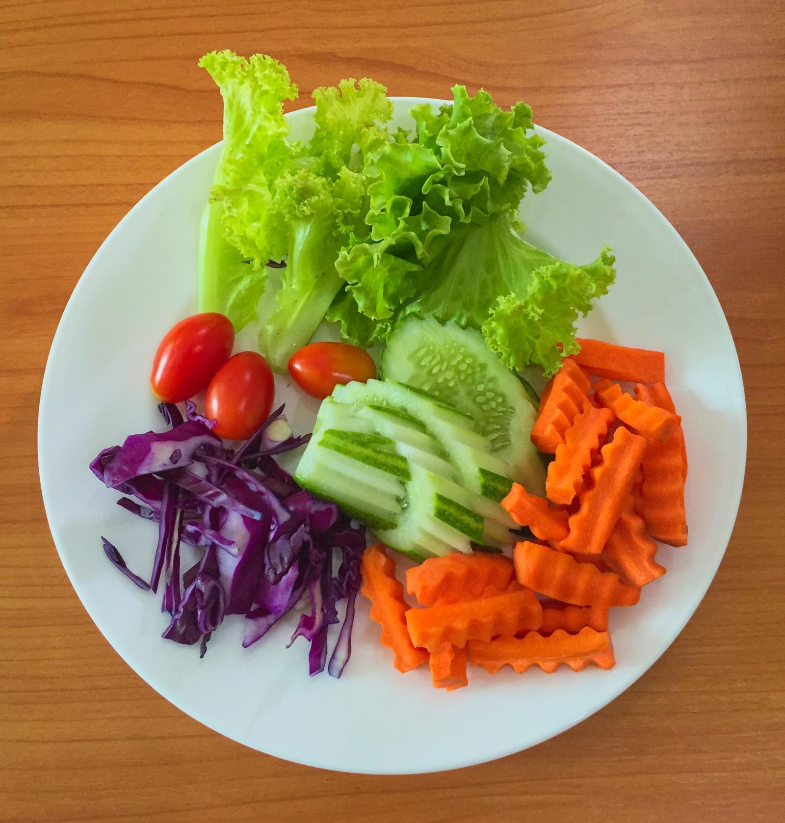 Mixed fresh vegetables