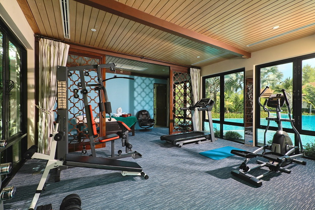 Ataman Luxury Villas are ideal for keeping yourself in great shape during your stay in Southern Thailand
